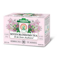 Tadin Seven Blossoms Herbal Tea Blend. Relaxation & Sleep Aid. 24 Bags. 1.01 oz