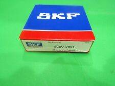 (Qt.1 Skf) 6209-2Rs Skf Brand rubber seals bearing