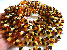 LOT-10 BALTIC Round Beads Baltic AMBER Baby NECKLACES