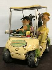 """2004 The Comic Art Of Guillermo Forchino """" The Next Hole """" Golf Cart # 85035"""