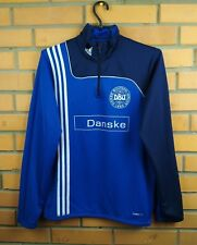 Denmark soccer training jacket small football Adidas
