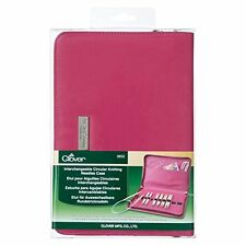 Clover Interchangeable Circular Knitting Needle Case #3652