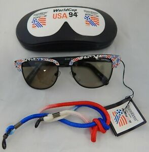 World Cup Soccer USA 1994 Vintage Striker Sunglasses By Diaco Transitions Lenses