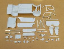 AMT 1/25 1967 CHEVELLE PRO STREET CHASSIS, INTERIOR AND RELATED PARTS