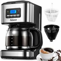 Filter Coffee Machine with Jug 1.8L, Programmable Timer Drip Coffee