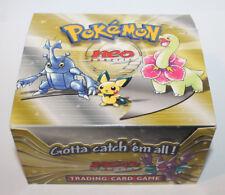 Pokemon EMPTY English Neo Genesis Booster Box Store Display