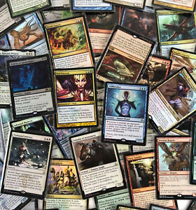 Magic the Gathering 10 FOIL RARE LOT x10 card 10x mtg NM mixed bulk collection
