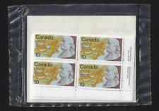 Canada - 4 Blocks of 4 - US Bicentennial, Benjamin Franklin #691 - MNH