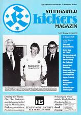 II. BL 89/90 Stuttgarter Kickers - Eintracht Braunschweig, 13.05.1990