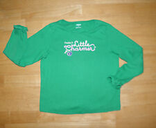 GYMBOREE SMART GIRLS RULE LS GREEN CHARMER TOP GIRLS SIZE 6 COTTON FALL