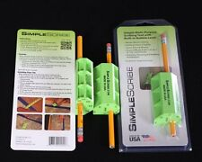 Simple Scribe (Scribing Tool,Level,pencil) 3 Pack,Woodworking,Flooring ,Fitting