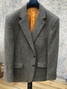 Men's Magee Handwoven Tweed Jacket Size 44R