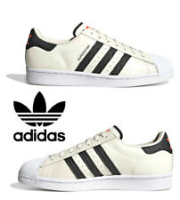 Adidas Originals Superstar Sneakers Men's Casual Shoes Running Cloud White Talc