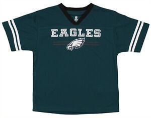 OuterStuff NFL Youth Boys Team Color Mesh Jersey, Philadelphia Eagles