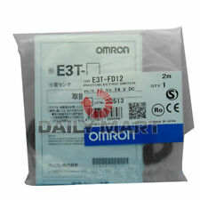 OMRON PHOTOELECTRIC SENSOR E3T-FD12 E3TFD12 AUTOMATION SWITCH NEW