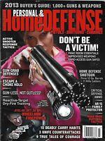 Personal And Home Defense Magazine Shotguns Road Rage Survival Tactics Ammo 2013