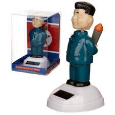 Solar Wackelfigur Kim Jong Un Solarfigur Schreibtisch-Deko Geschenk Mitbringsel