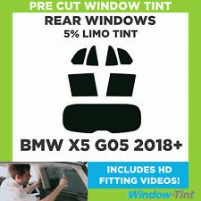 Pre Cut Window Tint - BMW X5 G05 2018+ - 5% Limo Rear