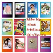 Fujifilm Instax Rainbow Mini Film Fuji instant photos 7s 8 90 25 50 Polaroid 300