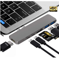 USB 3.1 Type C to 4K HDMI USB Hub Adapter TF Card Reader For Macbook Pro Huawei