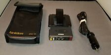 Vintage Uniden RD9 Dual Band Radar Detector with case and cord