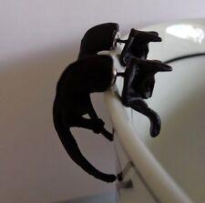 Black Cat 3D earrings - Oz seller brand  new in packaging!