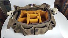 Domke Original F-2 Brown Waxwear Canvas Camera Shooters Bag with Ciesta Insert