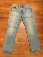 J.CREW 770 Kaihara Japanese Denim Jeans Light Wash Men's Size 33x31