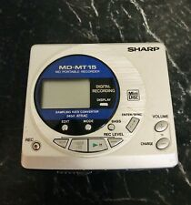 Sharp Md-Mt15 Portable Mini Disc Recorder/Player Error Message