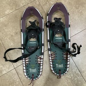 """Tubbs TD91 Control Wing Bindings 8"""" x 25"""" Snowshoes"""