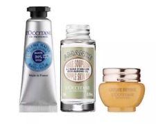 L'Occitane Trial Set of 3 Hand Cream, Almond Skin Oil, Immortelle Divine Cream