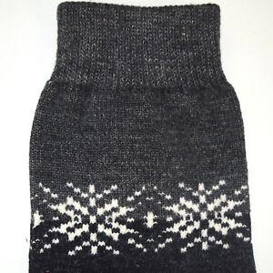 VTG 60s Atomic Snowflake Wool Argyle Socks Sz 7-9 vtg Medium Weight Fabric NWOT