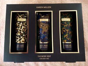"Karen Millen 3-Piece ""The Body Edit"" Set - Body Wash, Body Polish & Body Lotion"