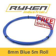 8mm Hose Flexible - Nylon - Blue / Tube - Pneumatic Air Line / 5m Roll
