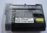 Batterie D'ORIGINE NIKON EN-EL15 D7000 D7100 D7200 D600 D750 D800 D800E V1 NEUVE