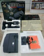 CONSOLA TURBOGRAFX NEC PC ENGINE COMPLETA  VERY RARE GENIAL PARA COLECCION