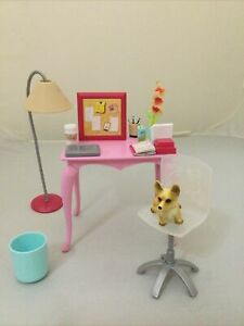 Barbie Desk And Chair Bedroom Playset