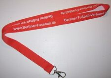 Berliner Fussball-Verband Schlüsselband Lanyard NEU (Z44)