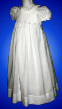 First Communion Dress - Hand Smocked - Laurie _ Size 7