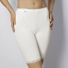 Sloggi Knickers - Sloggi Basic Long Briefs Long Leg Knickers White - 10007643