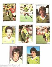 1983 RUGBY LEAGUE STICKERS -  CANBERRA RAIDERS