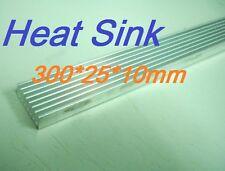 300x25x10mm Heatsink, Aluminum Heat-Sink, Heat Sink for LED, Power Transistor