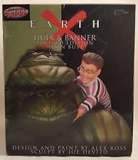 EARTH X HULK & BANNER Limited Edition Resin Bust~Dynamic Forces~Marvel~Alex Ross