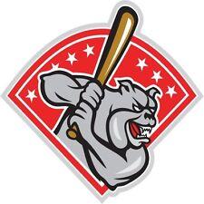 30 Custom Baseball Bulldog Personalized Address Labels