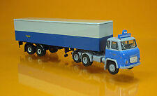 Brekina 85185 Scania LBS 76 Koffer LKW NSB Norwegen Scale 1 87 NEU OVP
