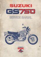1977 SUZUKI MOTORCYCLE GS750 SERVICE MANUAL  (116)
