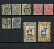 THAILAND 1899 SELECTION OF EARLY STAMPS (9)