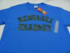 NEBRASKA KEARNEY LOPERS - NCAA DIVISION II MIAA - BLUE - 2XL SIZE T SHIRT!