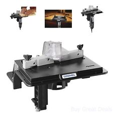 Router Table Convert Dremel Corded And Cordless Rotary Tool Trim Work Table Home