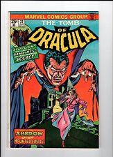 Marvel Tomb Of Dracula #23 1974 Fn Vintage Comic